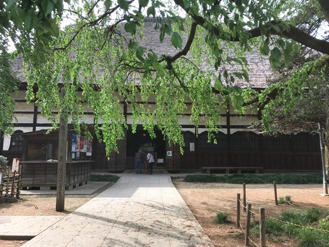 茂林寺のお堂