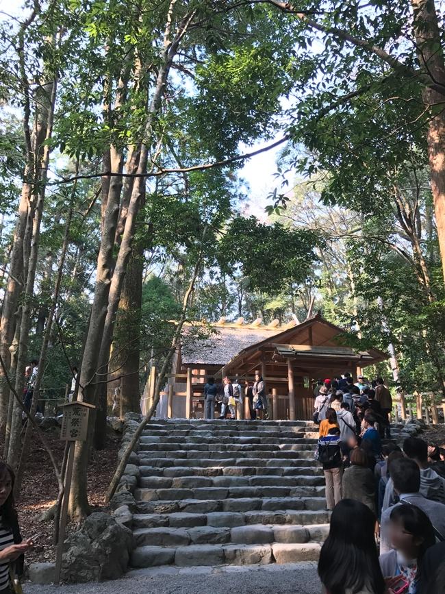 伊勢神宮の参拝場所