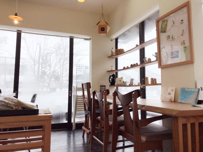藝やcafeの内観